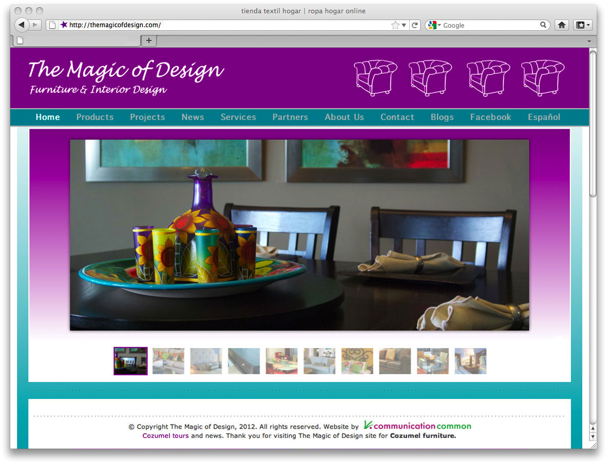 Web de decoracion de interiores ideas de disenos - Paginas decoracion interiores ...